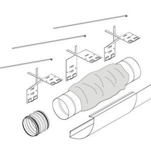 Äänenvaimennin Pax Ventilation system kit
