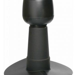 Alipainetuuletin VILPE huopakatolle harja 14° Ø110mm musta