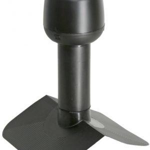 Alipainetuuletin VILPE huopakatolle harja 27° Ø75mm musta