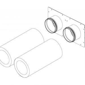 Asennuspaketti Pax Ventilation system kit