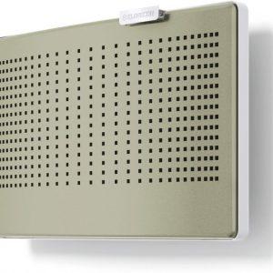 CLIK-tuloilmaventtiilin värikuori lämmin harmaa RAL 7032