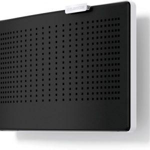 CLIK-tuloilmaventtiilin värikuori musta RAL 9005