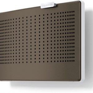 CLIK-tuloilmaventtiilin värikuori tumma beige RAL 1035