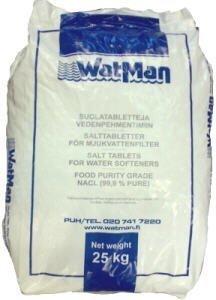 Elvytys- eli vedenpehmennyssuola WatMan 25 kg