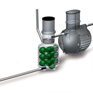 Harmaavesipuhdistamo BioRami 1000
