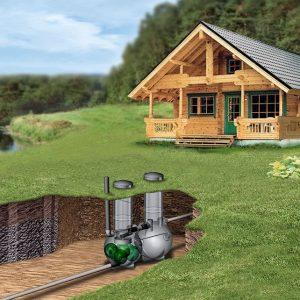 Harmaavesipuhdistamo BioRami 500 Wavin-Labko