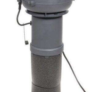 Huippuimuri VILPE E120 125/ER/400 harmaa