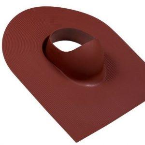 Huopakaton läpivienti VILPE Punainen