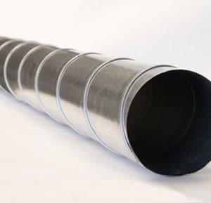 Ilmanvaihtokanava 125 x 3000 mm