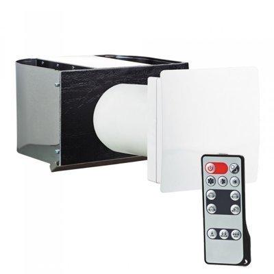 Ilmanvaihtokone Airsec 50C HR CU lämmöntalteenotolla