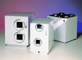 Ilmanvaihtolaite ja lämpöpumppu Nilan VPL15C vaakamalli