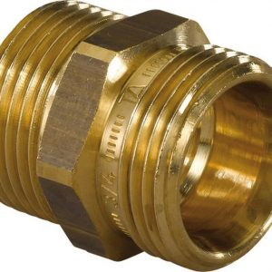 Kaksoisnippa R3/4'' x R3/4 ulkokierre Uponor-lattialämmitys