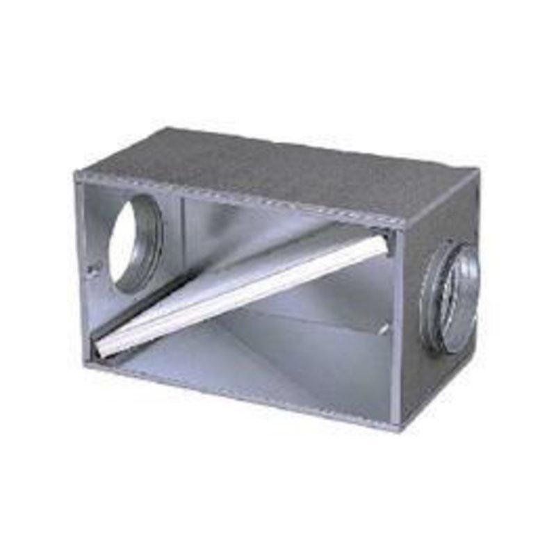 Kanavakotelo Ø 250 mm + G3 karkeasuodatin Enervent