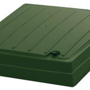 Kattoluukku huopakatolle vihreä VILPE