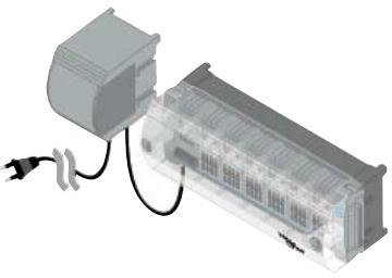 Kytkentärima huonesäätölaitteille 230V WehoFloor
