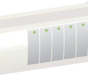 Kytkentäyksikkö RF LCD WehoFloor