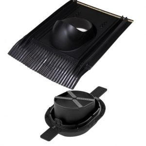 Läpivienti Universal 2K VILPE musta
