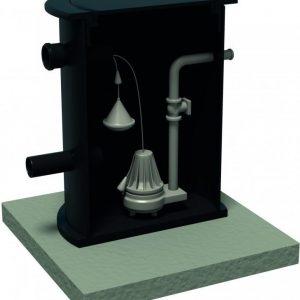 Lattiakaivopumppaamo Varma 1 pumppu