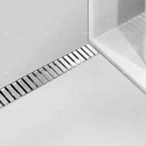 Lineaarinen lattiakaivo Line yhdellä kaadolla 800 mm Alcaplast