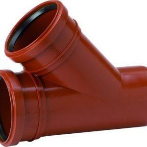 Maaviemärin haarayhde PVC 250/160x45°