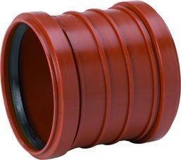 Maaviemärin kaksoismuhviyhde PVC 200 mm