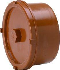 Maaviemärin puhdistustulppa PVC 200 pisto