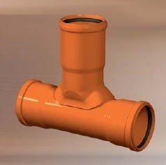 Maaviemärin tarkastushaara PVC 110x200