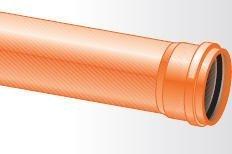 Maaviemäriputki PVC SN8 200x6000 mm