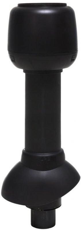 Pölyimurin poistoputki VILPE Ø75P/ER/500 musta