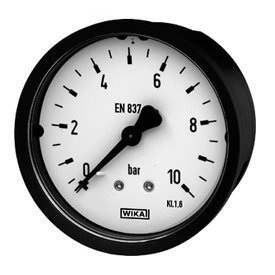 Painemittari Wika 111.16 50 mm 0-10 bar CBM G 1/4 B