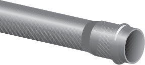 Paineputki PVC PN 10 110X6000 mm