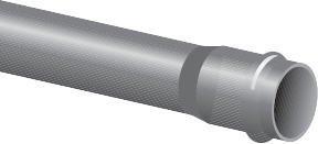 Paineputki PVC PN 10 225X6000 mm