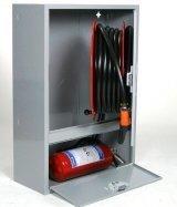 Palopostikaappi PV-202 pintamalli 25 mm / 30 m valkoinen 690x990x290mm