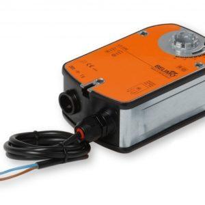 Peltimoottori jousipalautuksella 230 VAC 4 Nm Enervent