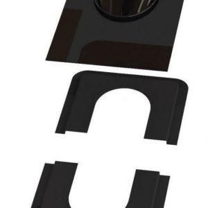 Piippu-aluskatteen tiiviste VILPE no. 2 musta