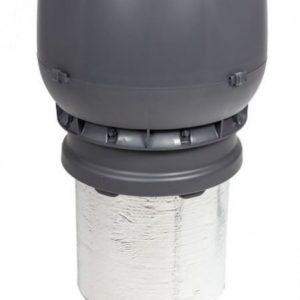 Poistoputki VILPE XL Ø160/ER/450 harmaa
