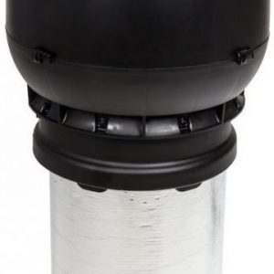 Poistoputki VILPE XL Ø160/ER/450 musta