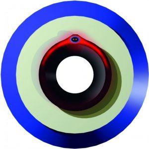 Saattokaapelin kytkentä- ja loppupää Microflex Cool