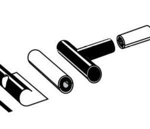 T-haaraeristyspakkaus 110 mm Rauheat