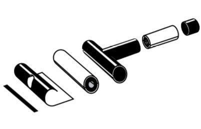 T-haaraeristyspakkaus 160 mm Rauheat