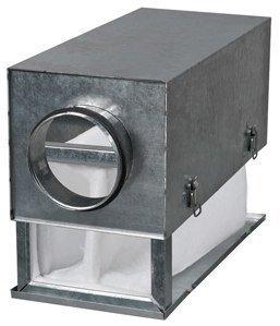 Taskusuodatinlaatikko Airsec 100 F7