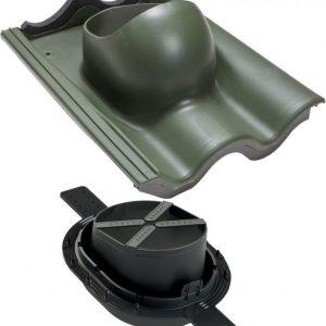 Tiili-läpivienti 2K VILPE vihreä