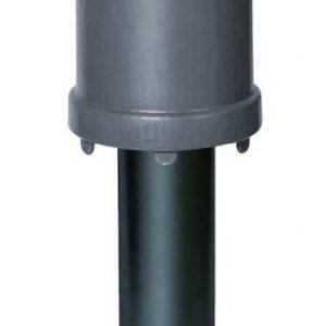 Tuuletusputki VILPE Ø110/ER/250 harmaa