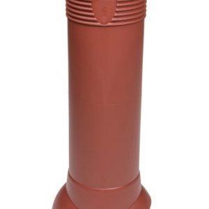 Tuuletusputki VILPE 110/ERISTETTY Punainen