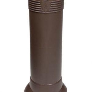 Tuuletusputki VILPE 110/ERISTETTY Ruskea