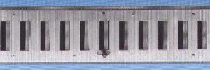 Ulkosäleikkö HSO 400x100