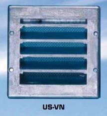 Ulkosäleikkö US-VN 150x150 valkoinen