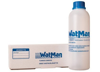 Vesianalyysipakkaus WatMan