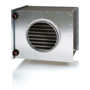Vesijäähdytin Enervent Pelican/ LTR-6 kanavaan Ø 250 mm 7/12°C (VEAB CWK 250-3-2