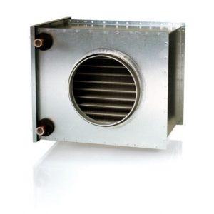 Vesilämmitin Enervent Pelican/ LTR-6 kanavaan Ø 200 mm 60/40°C (VEAB CWW 200-2-2